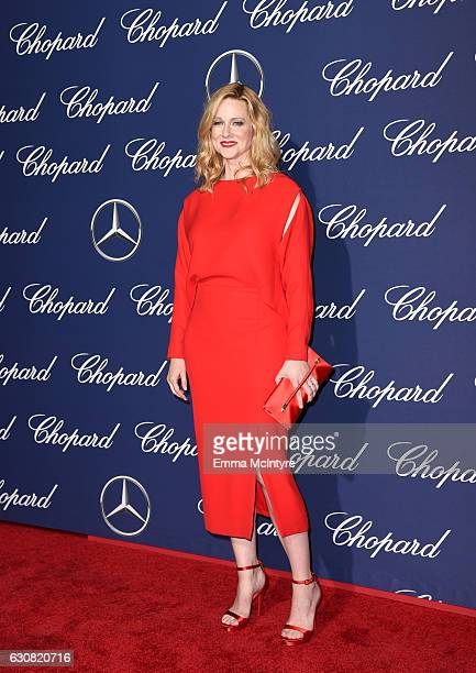Actress Laura Linney attends the 28th Annual Palm Springs International Film Festival Film Awards Gala at the Palm Springs Convention Center on...