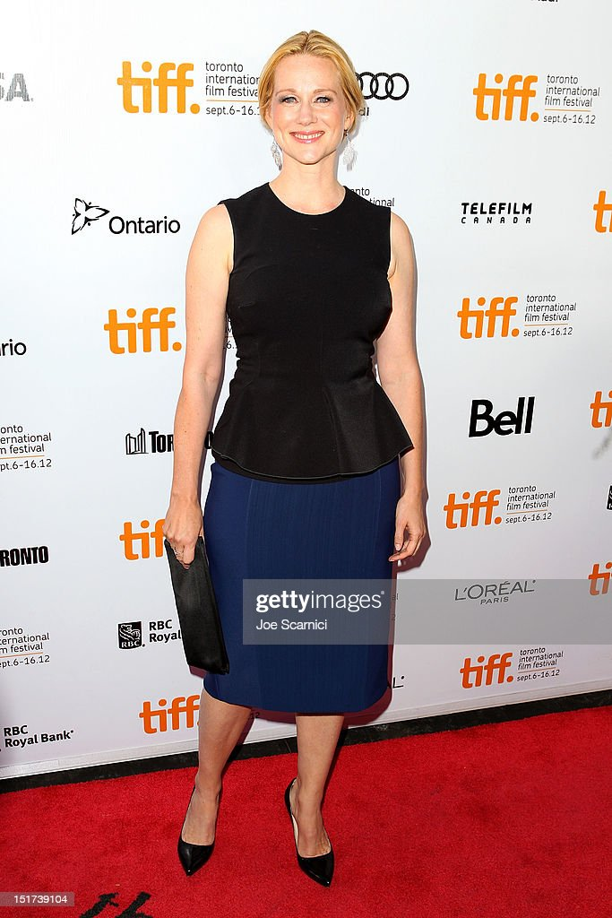 Actress Laura Linney attends the 'Hyde Park On Hudson' premiere during the 2012 Toronto International Film Festival at Roy Thomson Hall on September 10, 2012 in Toronto, Canada.