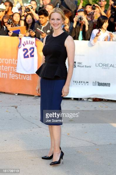 Actress Laura Linney attends the 'Hyde Park On Hudson' premiere during the 2012 Toronto International Film Festival at Roy Thomson Hall on September...