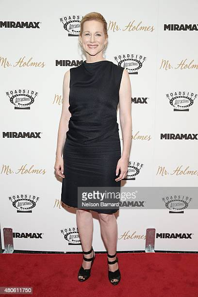Actress Laura Linney attends the New York premiere of 'Mr Holmes' at Museum of Modern Art on July 13 2015 in New York City