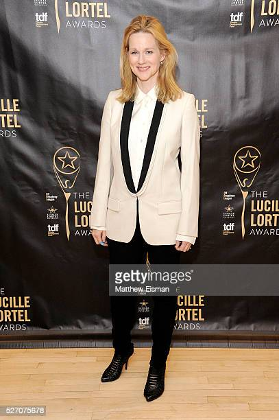 Actress Laura Linney attends the press room for the 31st Annual Lucille Lortel Awards at NYU Skirball Center on May 1 2016 in New York City