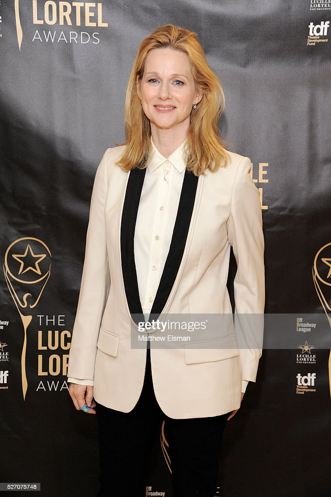 Actress <a gi-track='captionPersonalityLinkClicked' href=/galleries/search?phrase=Laura+Linney&family=editorial&specificpeople=171603 ng-click='$event.stopPropagation()'>Laura Linney</a> attends the press room for the 31st Annual Lucille Lortel Awards at NYU Skirball Center on May 1, 2016 in New York City.