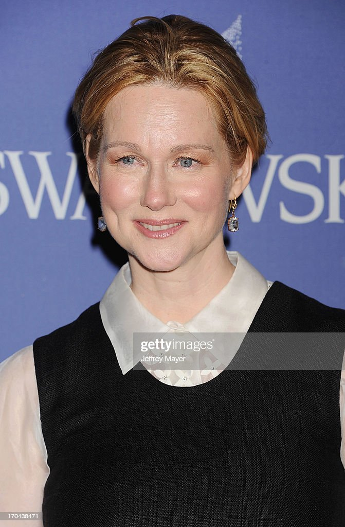 Actress <a gi-track='captionPersonalityLinkClicked' href=/galleries/search?phrase=Laura+Linney&family=editorial&specificpeople=171603 ng-click='$event.stopPropagation()'>Laura Linney</a> attends Women In Film's 2013 Crystal + Lucy Awards at The Beverly Hilton Hotel on June 12, 2013 in Beverly Hills, California.