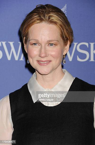 Actress Laura Linney attends Women In Film's 2013 Crystal Lucy Awards at The Beverly Hilton Hotel on June 12 2013 in Beverly Hills California