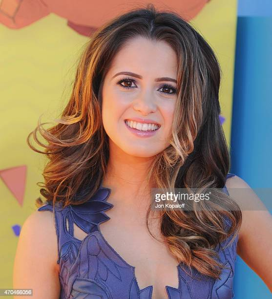 Actress Laura Marano arrives at Nickelodeon's 28th Annual Kids' Choice Awards at The Forum on March 28 2015 in Inglewood California