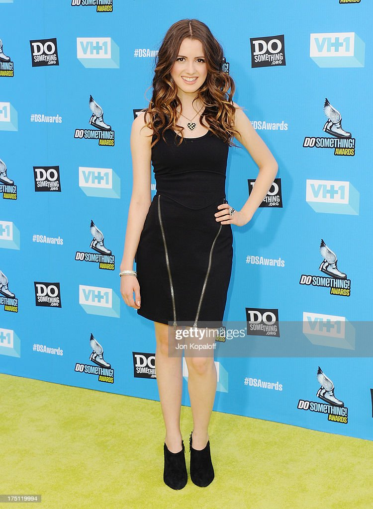 Actress Laura Marano arrives at the 2013 Do Something Awards at Avalon on July 31, 2013 in Hollywood, California.