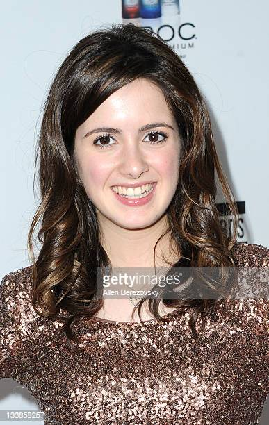 Actress Laura Marano arrives at the Rolling Stone 2nd Annual AMA afterparty at Rolling Stone Restaurant And Lounge on November 20 2011 in Los Angeles...