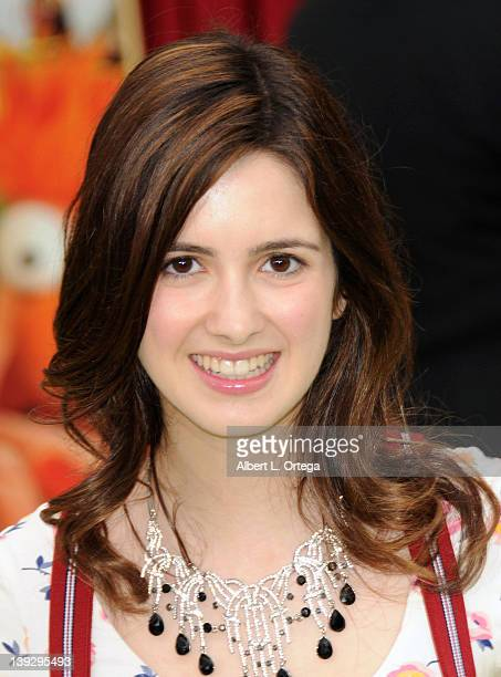 Actress Laura Marano arrives for 'The Muppets' Los Angeles Premiere held at the El Capitan Theatre on November 12 2011 in Hollywood California