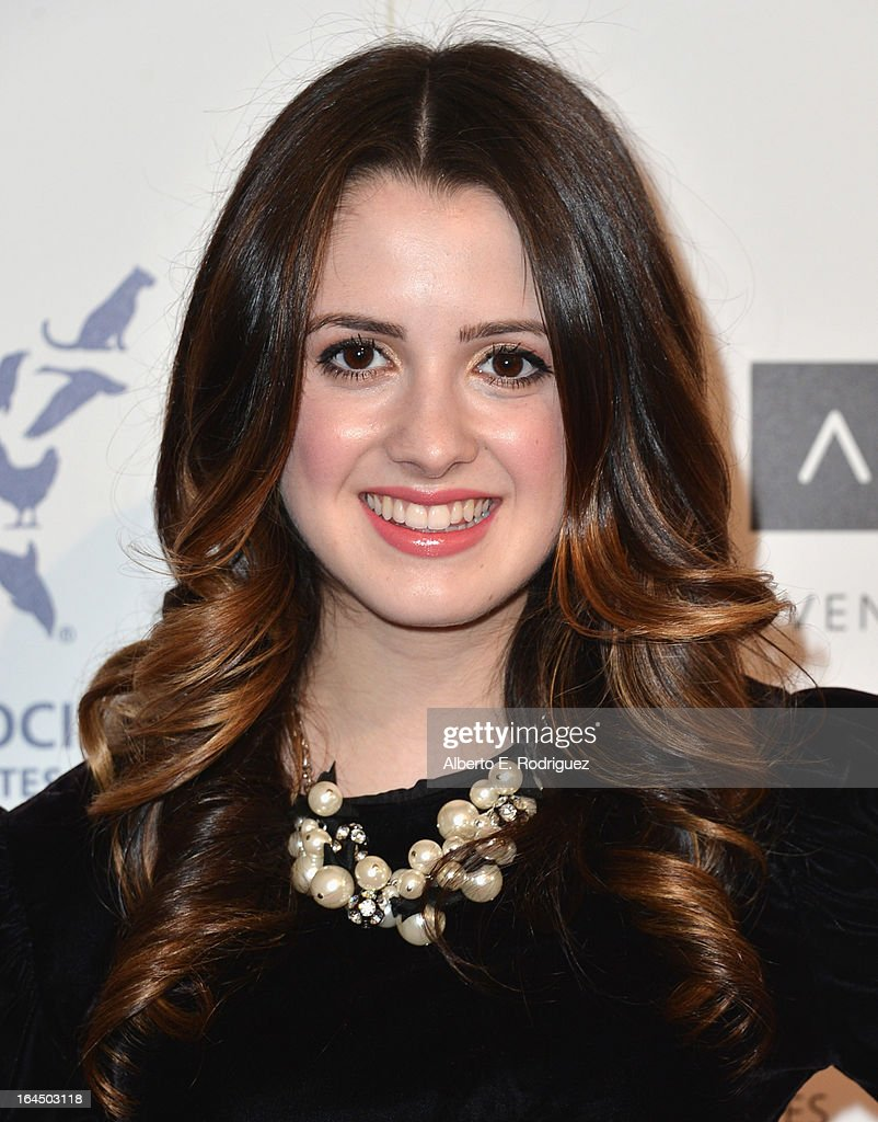Actress Laura Marano arrives to the 2013 Genesis Awards Benefit Gala at The Beverly Hilton Hotel on March 23, 2013 in Beverly Hills, California.