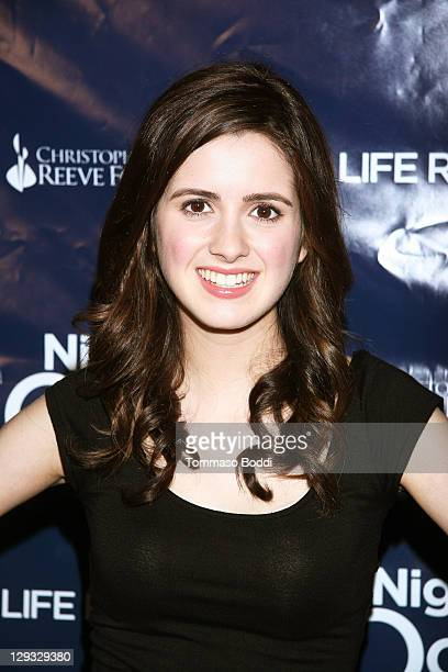 Actress Laura Marano attends the 8th Annual Night By The Ocean Gala held at the Ritz Carlton Hotel on October 15 2011 in Marina del Rey California