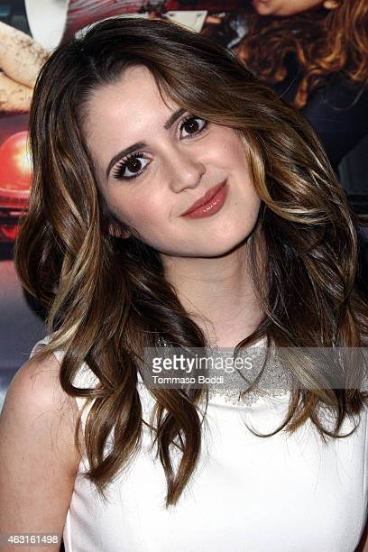Actress Laura Marano attends the Disney Channel Original Movie 'Bad Hair Day' Los Angeles premiere held at the Walt Disney Studios on February 10...