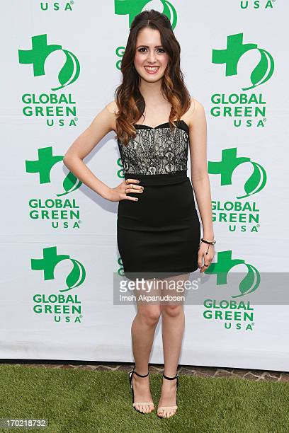 Actress Laura Marano attends the Global Green USA's Annual Millennium Awards at Fairmont Miramar Hotel on June 8 2013 in Santa Monica California