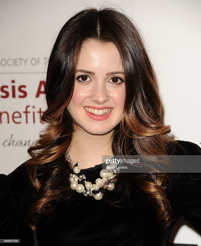 Actress Laura Marano attends The Humane Society's 2013 Genesis Awards benefit gala at the Beverly Hilton Hotel on March 23, 2013 in Beverly Hills, California.
