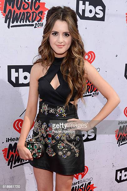 Actress Laura Marano attends the iHeartRadio Music Awards at The Forum on April 3 2016 in Inglewood California