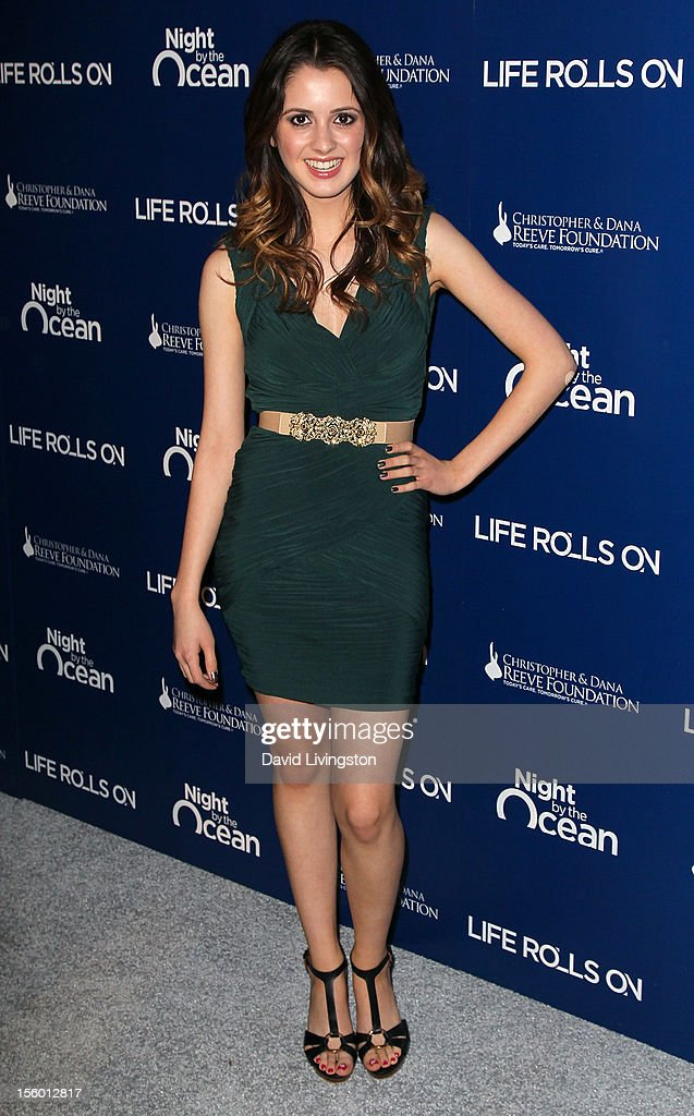 Actress Laura Marano attends The Life Rolls On Foundation's 9th Annual Night by the Ocean at the Ritz-Carlton Hotel on November 10, 2012 in Marina del Rey, California.