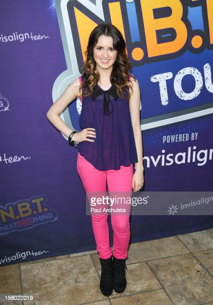 Actress Laura Marano attends the Radio Disney's 'NBT' season five winner announcements at The Americana at Brand on December 8 2012 in Glendale...