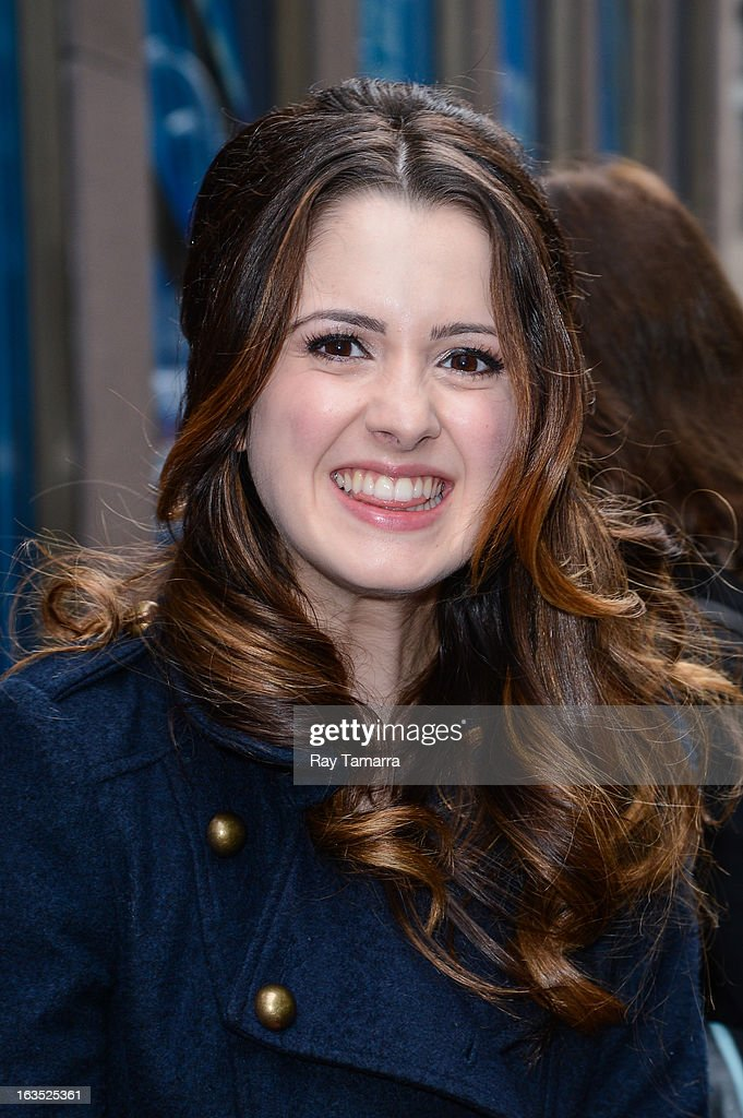 Actress Laura Marano leaves the Sirius XM Studios on March 11, 2013 in New York City.