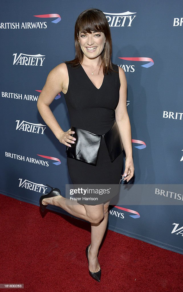 Actress Laura Michelle attends British Airways and Variety Celebrate The Inaugural A380 Service Direct from Los Angeles to London and Discover Variety's 10 Brits to Watch on September 25, 2013 in Los Angeles, California.