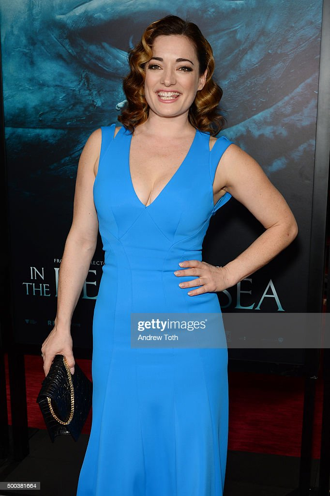 Actress Laura Michelle Kelly attends 'In The Heart Of The Sea' New York premiere at Frederick P Rose Hall Jazz at Lincoln Center on December 7 2015...