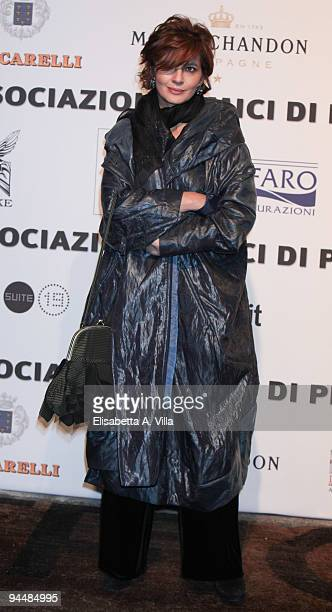 Actress Laura Morante attends Gala Dinner In Favour Of Pietro Gamba Association at Officine Farneto on December 15 2009 in Rome Italy
