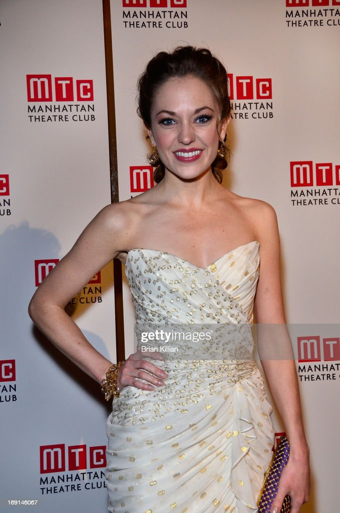Actress Laura Osnes attends Manhattan Theatre Club 2013 Spring Gala at Cipriani 42nd Street on May 20, 2013 in New York City.