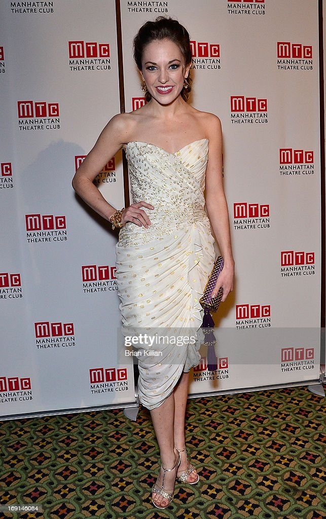 Actress <a gi-track='captionPersonalityLinkClicked' href=/galleries/search?phrase=Laura+Osnes&family=editorial&specificpeople=4213655 ng-click='$event.stopPropagation()'>Laura Osnes</a> attends Manhattan Theatre Club 2013 Spring Gala at Cipriani 42nd Street on May 20, 2013 in New York City.