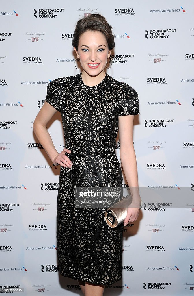 Actress Laura Osnes attends the 2013 Roundabout Theatre Company Spring Gala at Hammerstein Ballroom on March 11, 2013 in New York City.