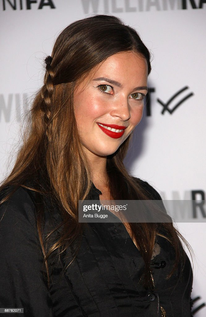 Actress Laura Osswald arrives to the 'William Rast' fashion show during the Bread and Butter fashion trade fair at the Silver Wings Club on July 1, 2009 in Berlin, Germany.