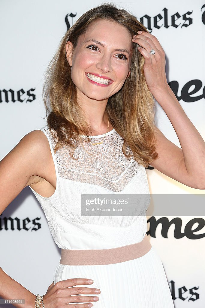 Actress Laura Perloe attends the premiere of 'Some Girl(s)' at Laemmle NoHo 7 on June 26, 2013 in North Hollywood, California.