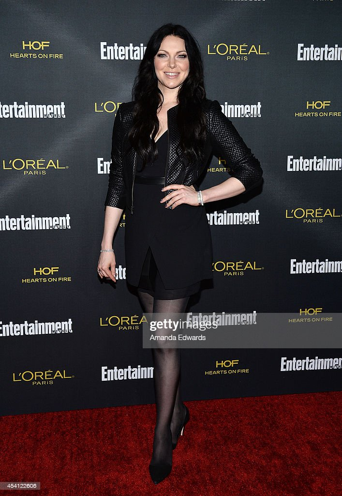 Actress Laura Prepon arrives at the 2014 Entertainment Weekly Pre-Emmy Party at Fig & Olive Melrose Place on August 23, 2014 in West Hollywood, California.