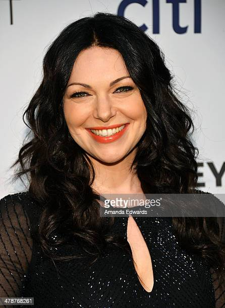 Actress Laura Prepon arrives at the 2014 PaleyFest 'Orange Is The New Black' event at the Dolby Theatre on March 14 2014 in Hollywood California