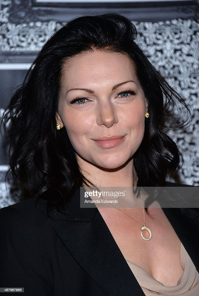 Actress Laura Prepon arrives at the Family Equality Council's Annual Los Angeles Awards Dinner at The Globe Theatre on February 8, 2014 in Universal City, California.