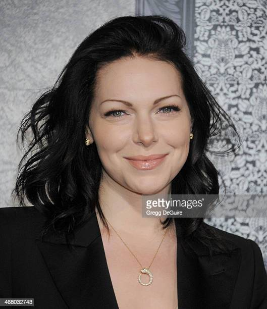 Actress Laura Prepon arrives at the Family Equality Council's Annual Los Angeles Awards Dinner at The Globe Theatre on February 8 2014 in Universal...