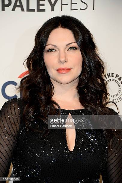 Actress Laura Prepon arrives at The Paley Center For Media's PaleyFest 2014 Honoring 'Orange Is The New Black' at Dolby Theatre on March 14 2014 in...