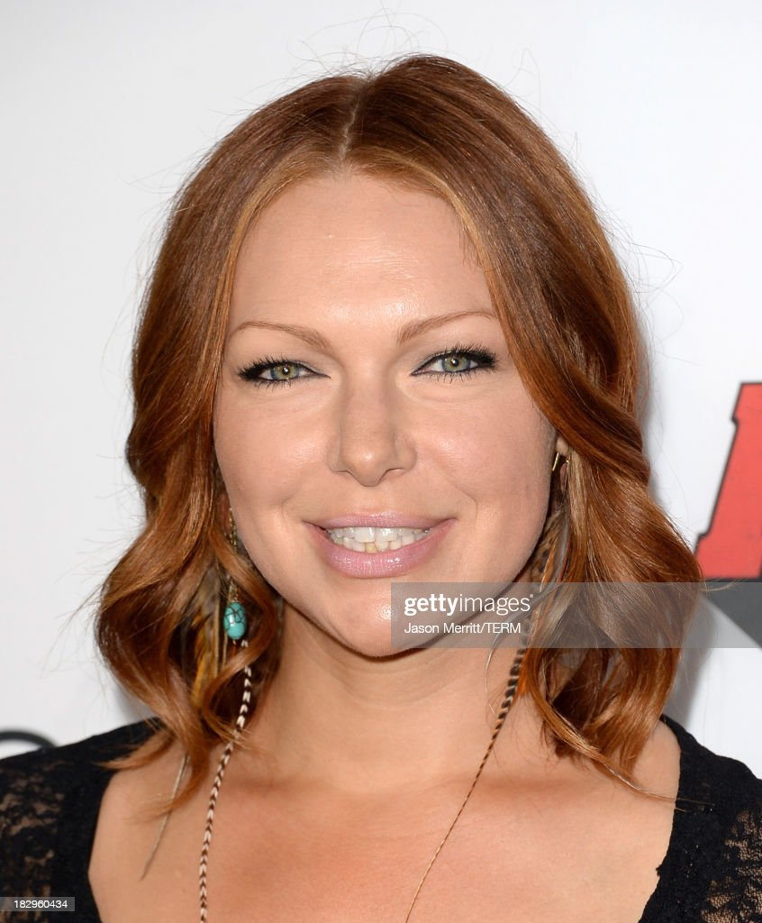Actress <a gi-track='captionPersonalityLinkClicked' href=/galleries/search?phrase=Laura+Prepon&family=editorial&specificpeople=211299 ng-click='$event.stopPropagation()'>Laura Prepon</a> arrives at the premiere of Open Road Films' 'Machete Kills' at Regal Cinemas L.A. Live on October 2, 2013 in Los Angeles, California.