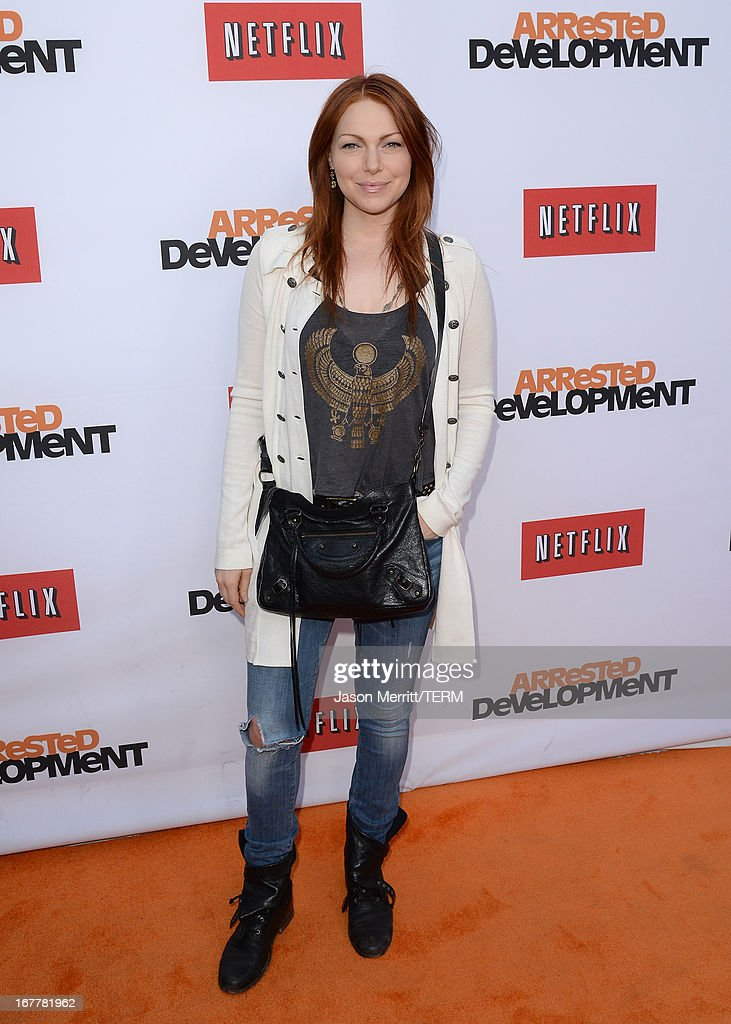 Actress Laura Prepon arrives at the TCL Chinese Theatre for the premiere of Netflix's 'Arrested Development' Season 4 held on April 29, 2013 in Hollywood, California.