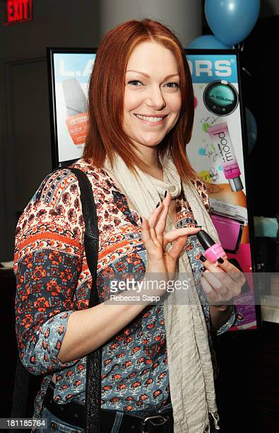 Actress Laura Prepon attends Kari Feinstein's PreEmmy Style Lounge at the Andaz Hotel on September 19 2013 in Los Angeles California