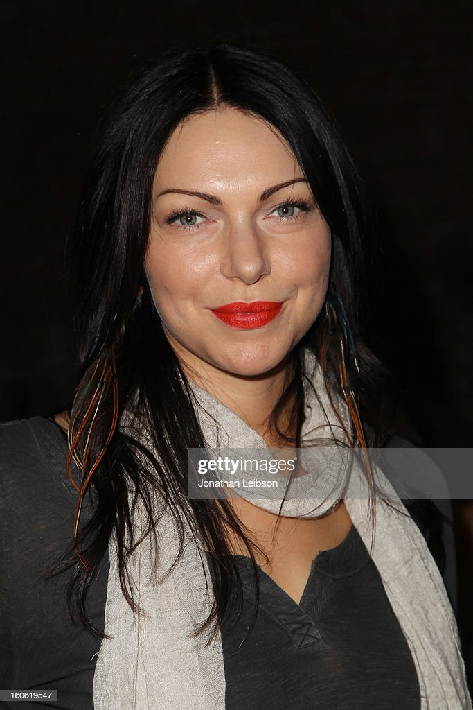 Actress <a gi-track='captionPersonalityLinkClicked' href=/galleries/search?phrase=Laura+Prepon&family=editorial&specificpeople=211299 ng-click='$event.stopPropagation()'>Laura Prepon</a> attends Super Bowl Sunday at The Microsoft Experience on February 3, 2013 in Venice, California.