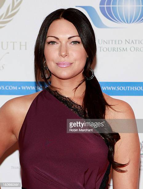 Actress Laura Prepon attends the 2012 SouthSouth Awards at The Waldorf=Astoria on September 23 2012 in New York City
