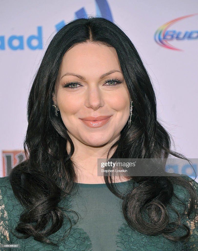 Actress <a gi-track='captionPersonalityLinkClicked' href=/galleries/search?phrase=Laura+Prepon&family=editorial&specificpeople=211299 ng-click='$event.stopPropagation()'>Laura Prepon</a> attends the 25th Annual GLAAD Media Awards on May 3, 2014 in New York City.
