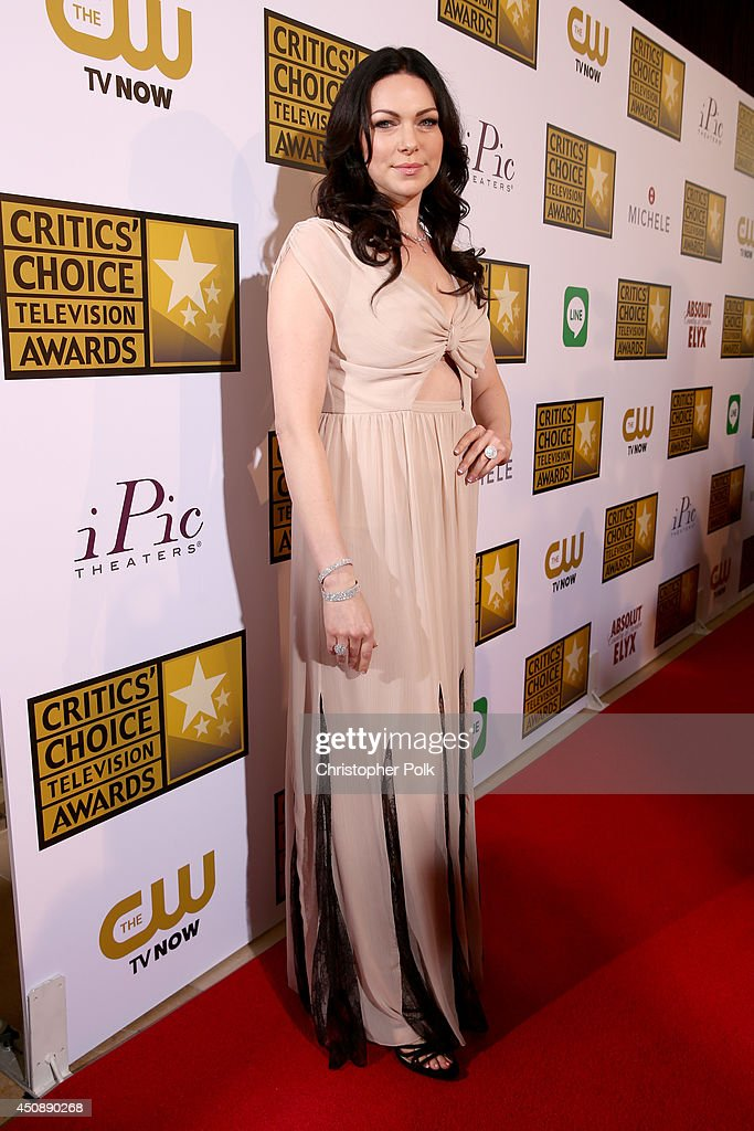 Actress <a gi-track='captionPersonalityLinkClicked' href=/galleries/search?phrase=Laura+Prepon&family=editorial&specificpeople=211299 ng-click='$event.stopPropagation()'>Laura Prepon</a> attends the 4th Annual Critics' Choice Television Awards at The Beverly Hilton Hotel on June 19, 2014 in Beverly Hills, California.
