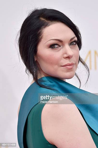 Actress Laura Prepon attends the 66th Annual Primetime Emmy Awards held at Nokia Theatre LA Live on August 25 2014 in Los Angeles California