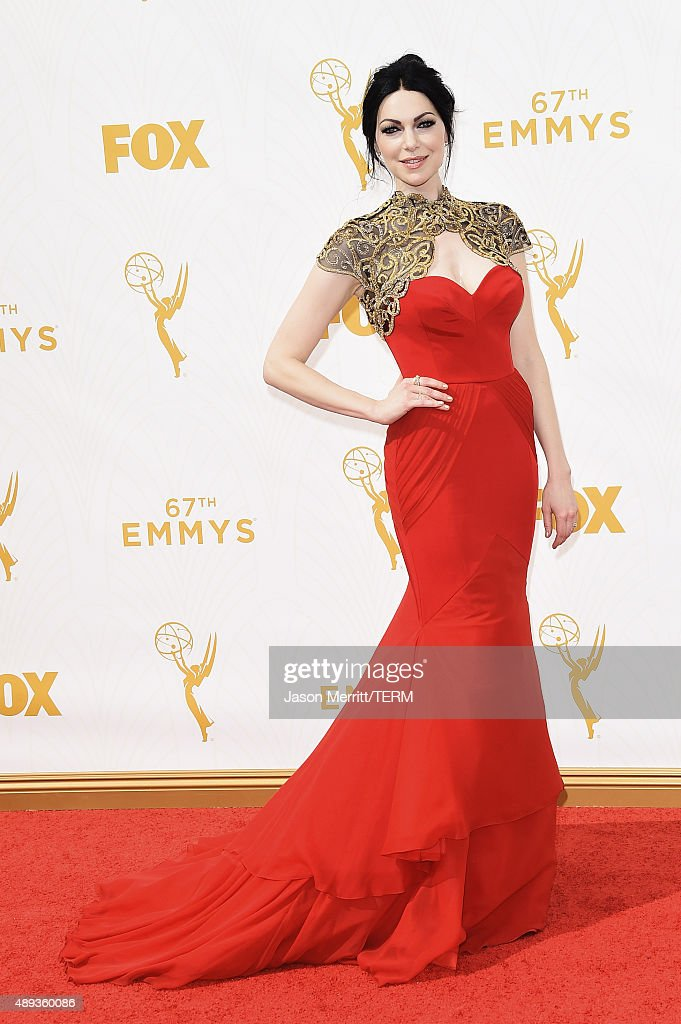 Actress Laura Prepon attends the 67th Annual Primetime Emmy Awards at Microsoft Theater on September 20 2015 in Los Angeles California