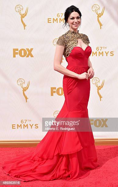 Actress Laura Prepon attends the 67th Emmy Awards at Microsoft Theater on September 20 2015 in Los Angeles California 25720_001