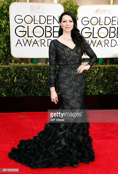 Actress Laura Prepon attends the 72nd Annual Golden Globe Awards at The Beverly Hilton Hotel on January 11 2015 in Beverly Hills California