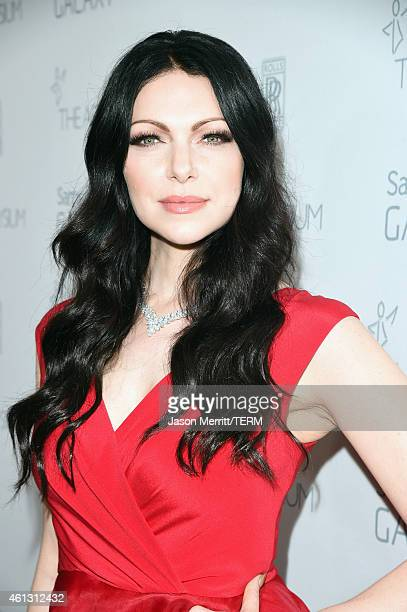Actress Laura Prepon attends the 8th Annual HEAVEN Gala presented by Art of Elysium and Samsung Galaxy at Hangar 8 on January 10 2015 in Los Angeles...