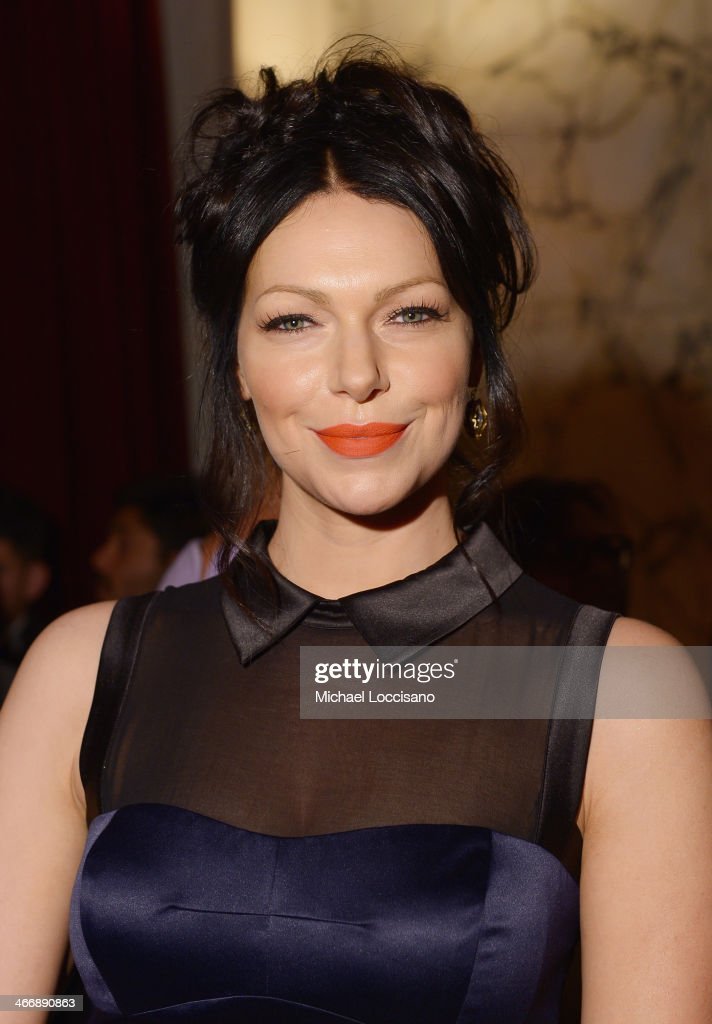Actress <a gi-track='captionPersonalityLinkClicked' href=/galleries/search?phrase=Laura+Prepon&family=editorial&specificpeople=211299 ng-click='$event.stopPropagation()'>Laura Prepon</a> attends the after party following the 'Monuments Men' premiere at The Metropolitain Club on February 4, 2014 in New York City.