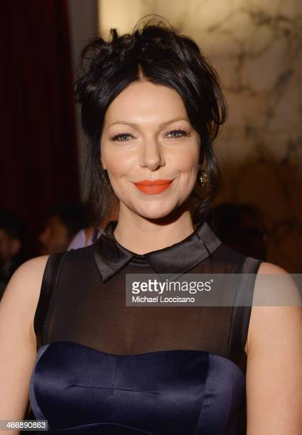 Actress Laura Prepon attends the after party following the 'Monuments Men' premiere at The Metropolitain Club on February 4 2014 in New York City