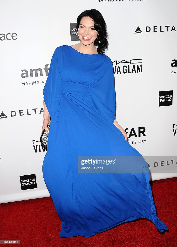 Actress Laura Prepon attends the amfAR Inspiration Gala at Milk Studios on December 12, 2013 in Hollywood, California.