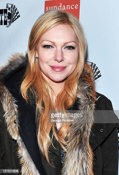 Actress Laura Prepon attends the 'Lay the Favorite' after party held at Goodnight Gansevoort at The ONE Group House on January 21 2012 in Park City...